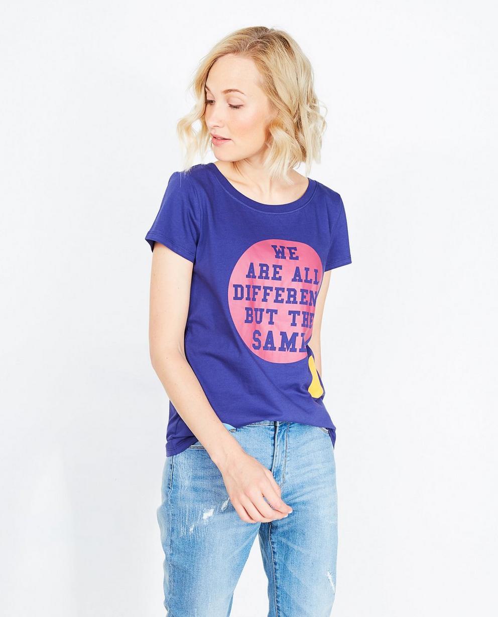 T-shirt mauve - imprimé, ZulupaPUWA - ZulupaPUWA